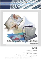 Heft 15 -Instandhaltungsplan und Jahresabrechnung